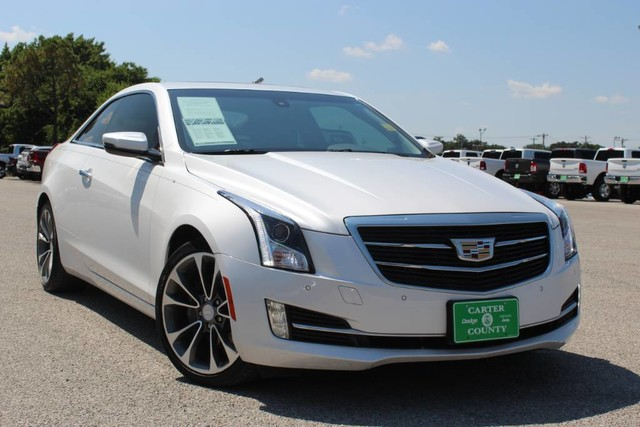 Cadillac Ats Coupe >> Pre Owned 2016 Cadillac Ats Coupe Luxury Collection Rwd Rear Wheel Drive 2dr Car