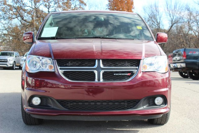 Pre Owned 2017 Dodge Grand Caravan Sxt Leather Interior Backup