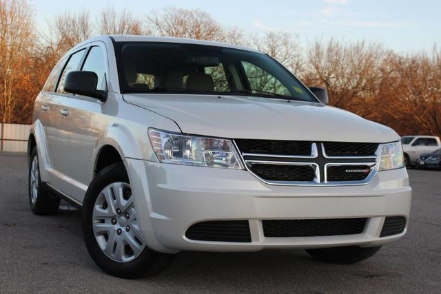 Pre Owned 2014 Dodge Journey American Value Pkg 3rd Row Suv Low