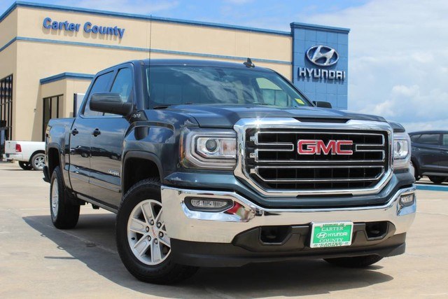 Pre-Owned 2017 GMC Sierra 1500 SLE IN A CLASS OF ITS OWN WITH AMAZING FEATURES AND LOW MILES