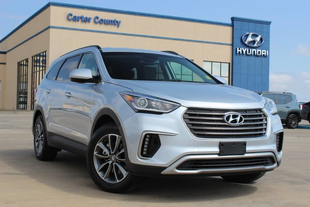 Pre-Owned 2018 Hyundai Santa Fe LIKE NEW 3RD ROW SUV WITH TONS OF WARRANTY REMAINING