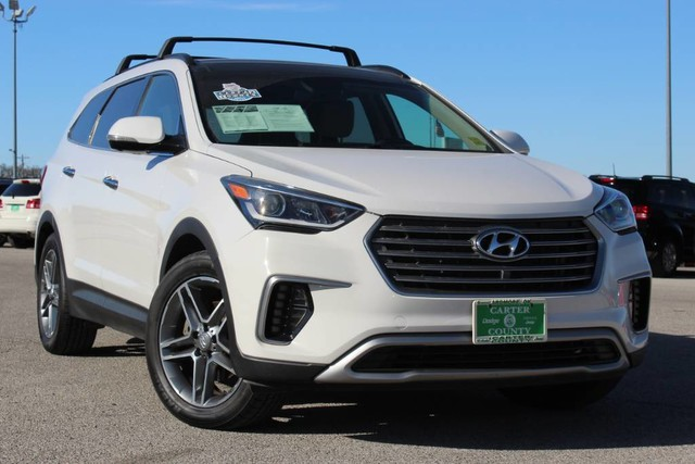 Pre Owned 2017 Hyundai Santa Fe Se Ultimate Panoramic Roof Navigation Leather