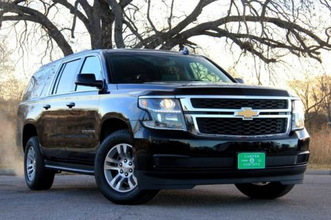 Pre-Owned 2017 Chevrolet Suburban LUXURY EDITION LOADED LOW MILES ONE OWNER FACTORY WARRANTY