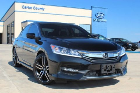 Pre-Owned 2017 Honda Accord Sedan Sport SE PERFECT VEHICLE FOR ANYONE WITH LOW LOW MILES
