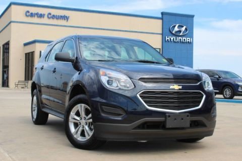 Pre-Owned 2017 Chevrolet Equinox LS ONE OWNER NEVER BEEN SMOKED IN AND PRISTINE
