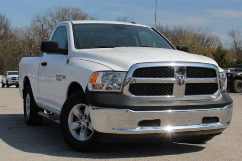 Pre-Owned 2018 Ram 1500 Tradesman VERY LOW MILES CLEAN CARFAX FACTORY WARRANTY READY FOR WORK