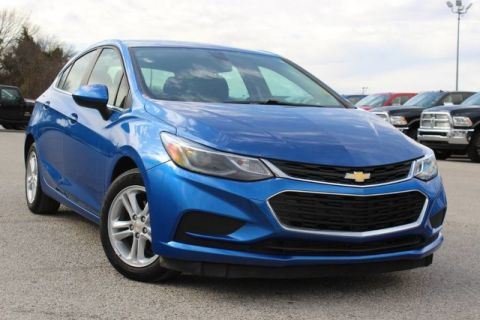 Pre-Owned 2017 Chevrolet Cruze LT HATCHBACK LIKE NEW CARFAX CERTIFIED