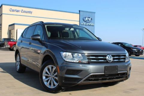 Pre-Owned 2018 Volkswagen Tiguan S WITH GREAT FEATURES AND ONLY A ONE OWNER