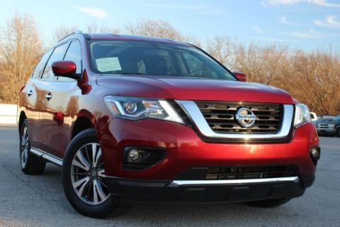 Pre-Owned 2017 Nissan Pathfinder SL 4X4 LEATHER LOADED 360 CAMERAS ONE OWNER