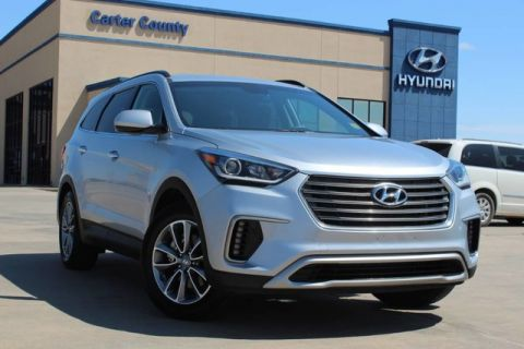 Pre-Owned 2018 Hyundai Santa Fe 3RD ROW FUEL ECONOMY FAVORITE SUVS WITH LOW MILES
