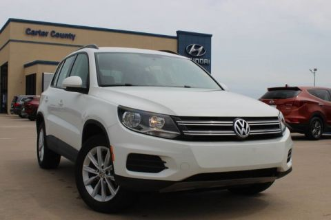 Pre-Owned 2017 Volkswagen Tiguan S CLEAN CARFAX AND LOW MILES WITH GREAT FUEL MILEAGE